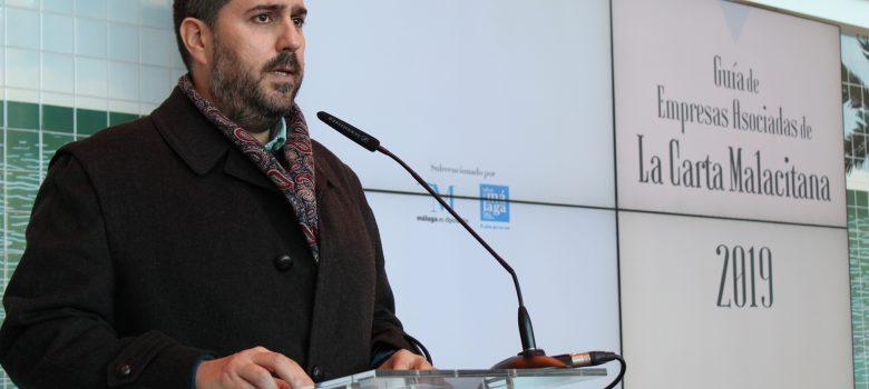 Fernando Sánchez (Media&Chef), autor de La Guía de Empresas Asociadas de La Carta Malacitana