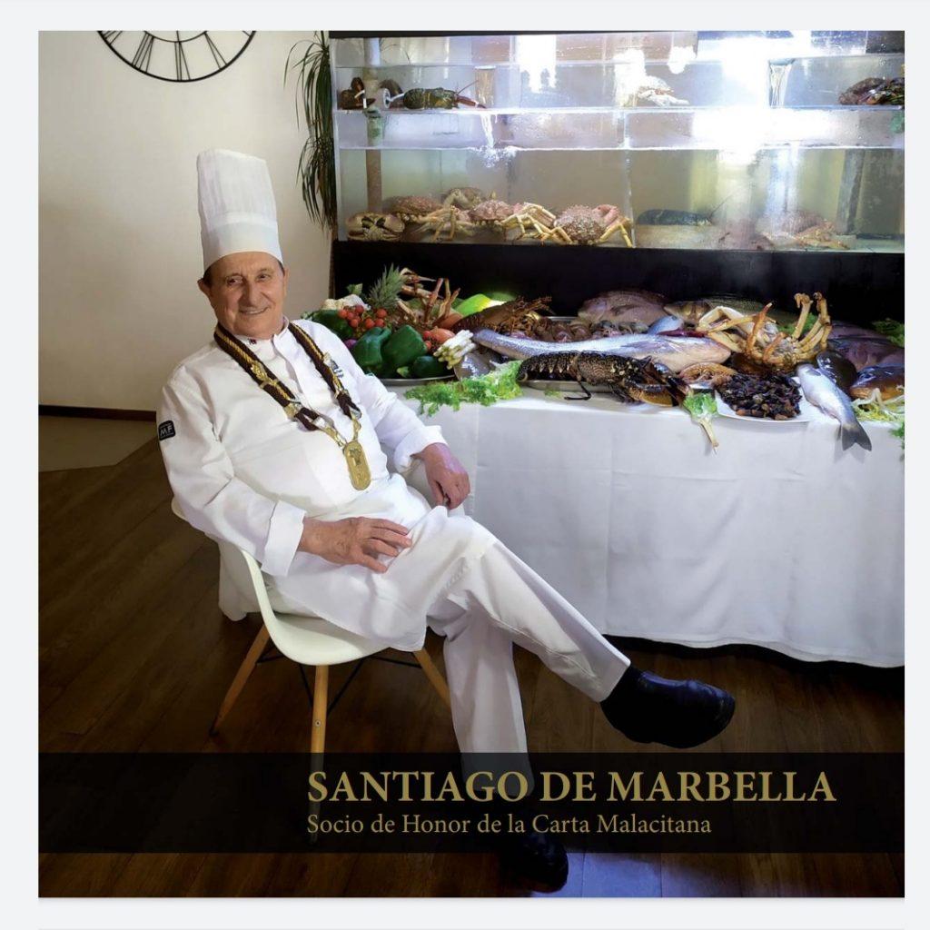 Acceso al Libro Santiago de Marbella, Socio de Honor de LCM