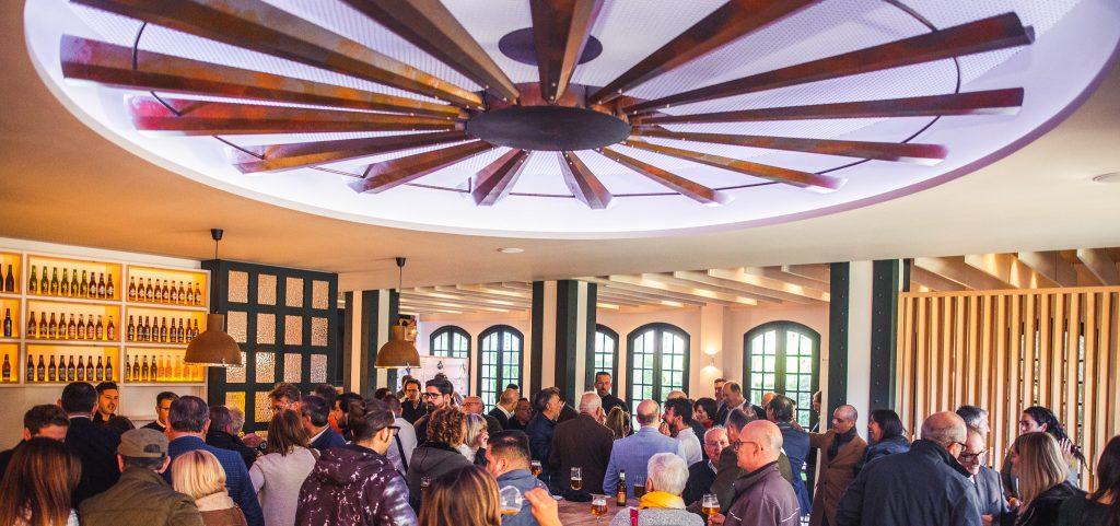 El cóctel de entrega de premios se celebró en el Centro de Producción de Cervezas San Miguel